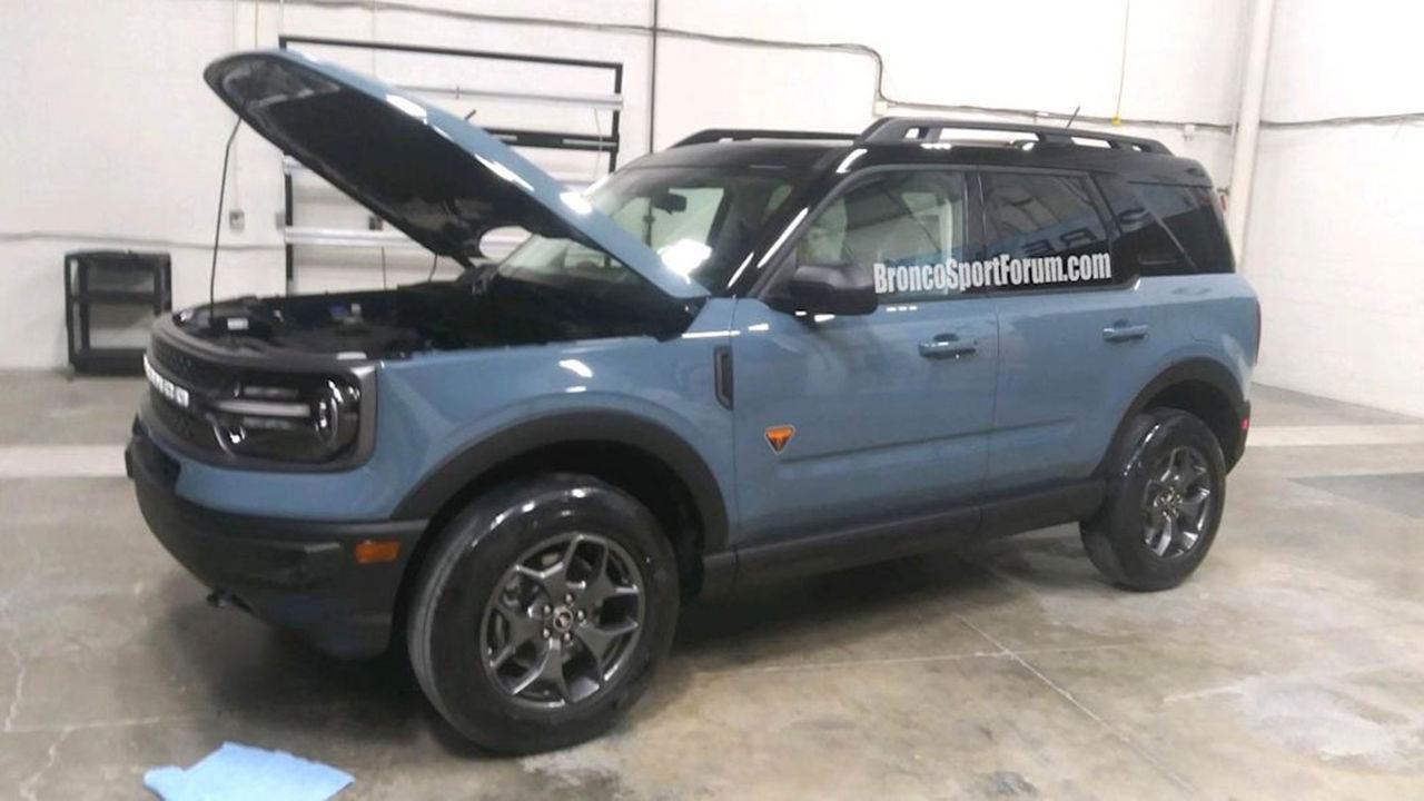Nya Ford Bronco läcker ut - igen