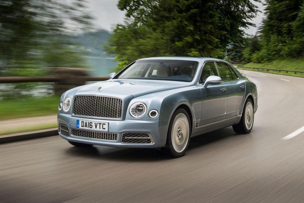 Bentley Mulsanne slutar tillverkas nu i vår