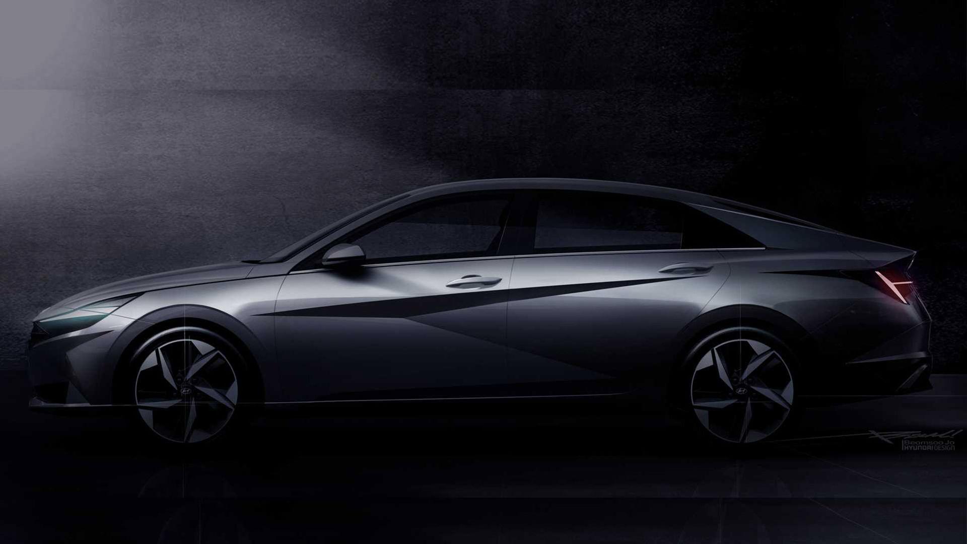 Teasers för nya Hyundai Elantra