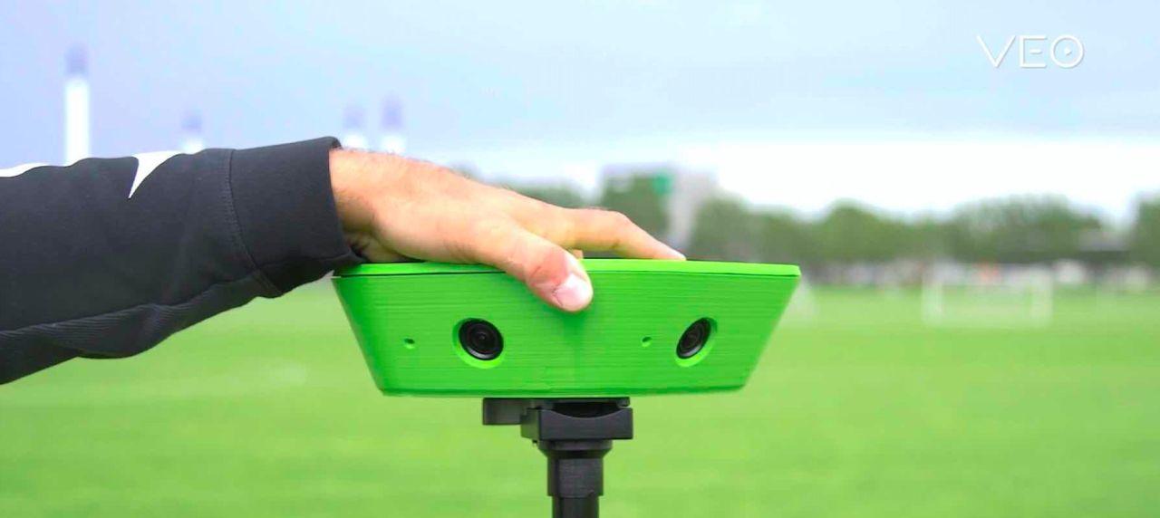Veo är en AI-kamera som filmar fotbollsmatcher