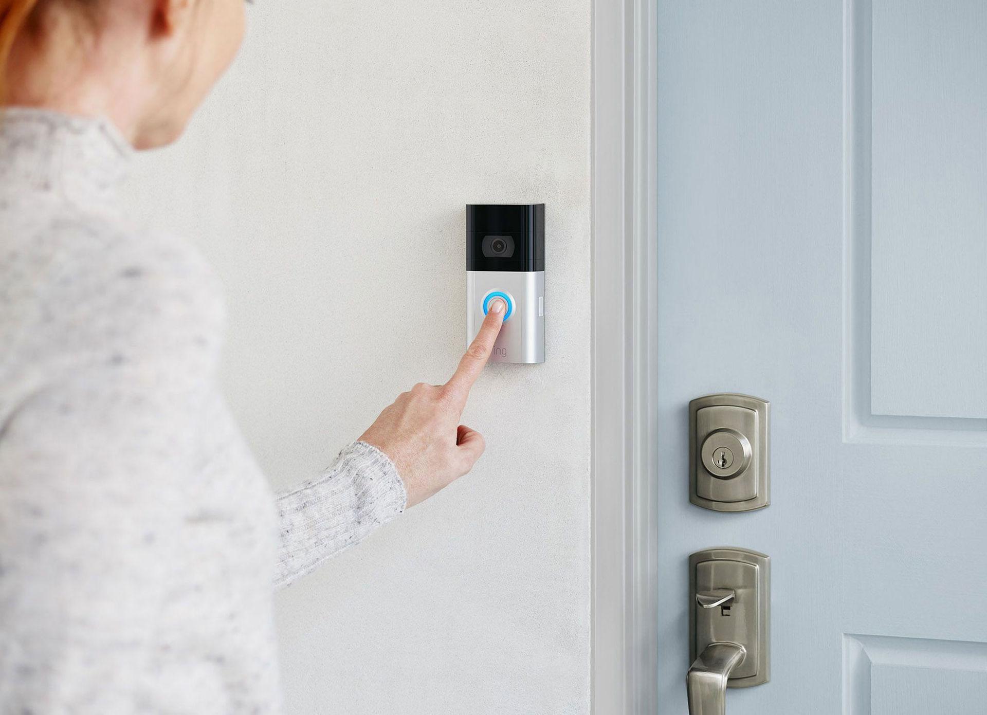 Ring lanserar uppdaterade videodörrklockor