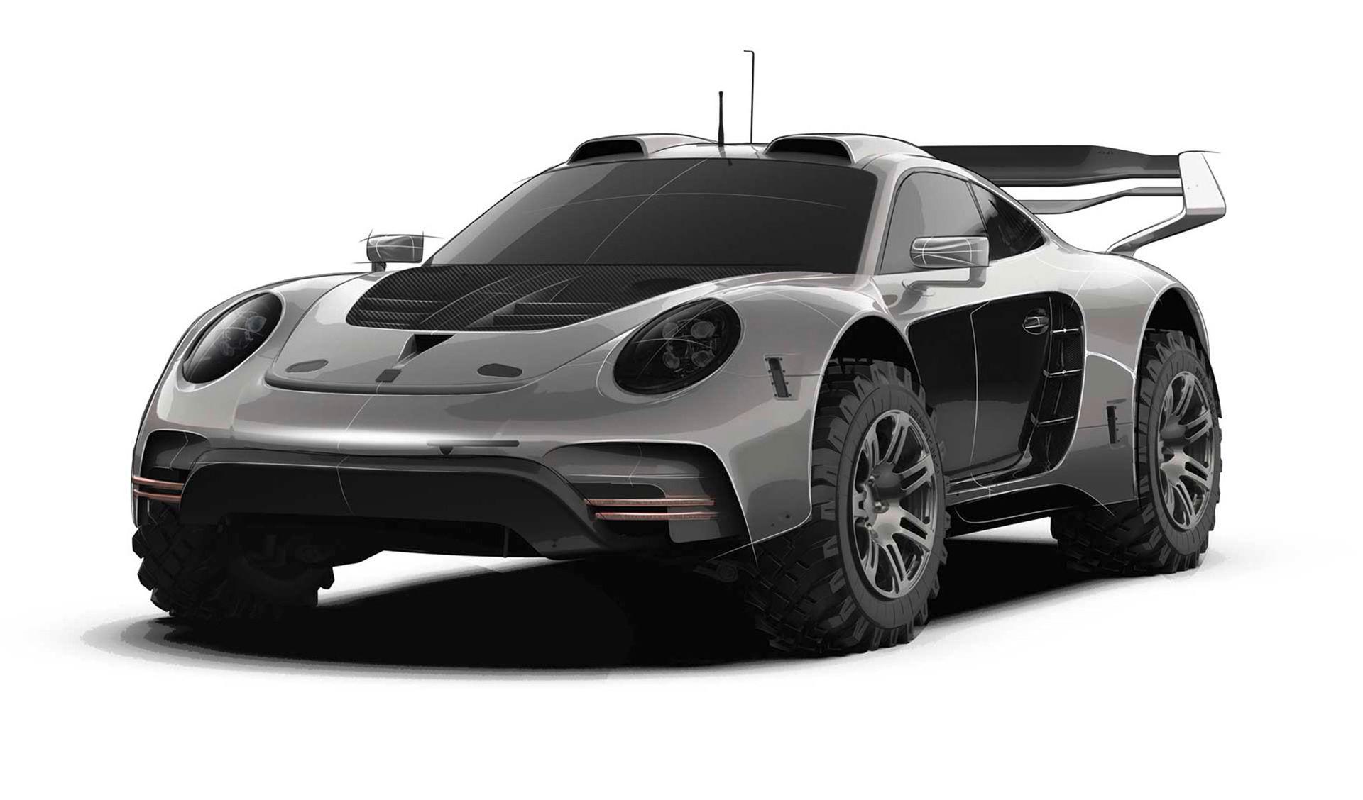 Gemballa visar ordentligt ruggad Porsche 911