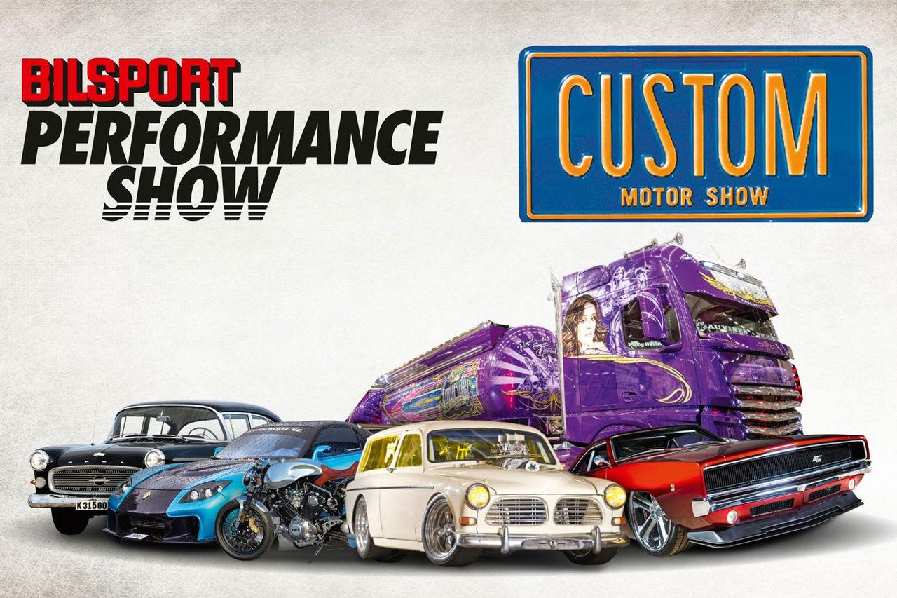 Bilsport Performance & Custom Motor Show ställs in