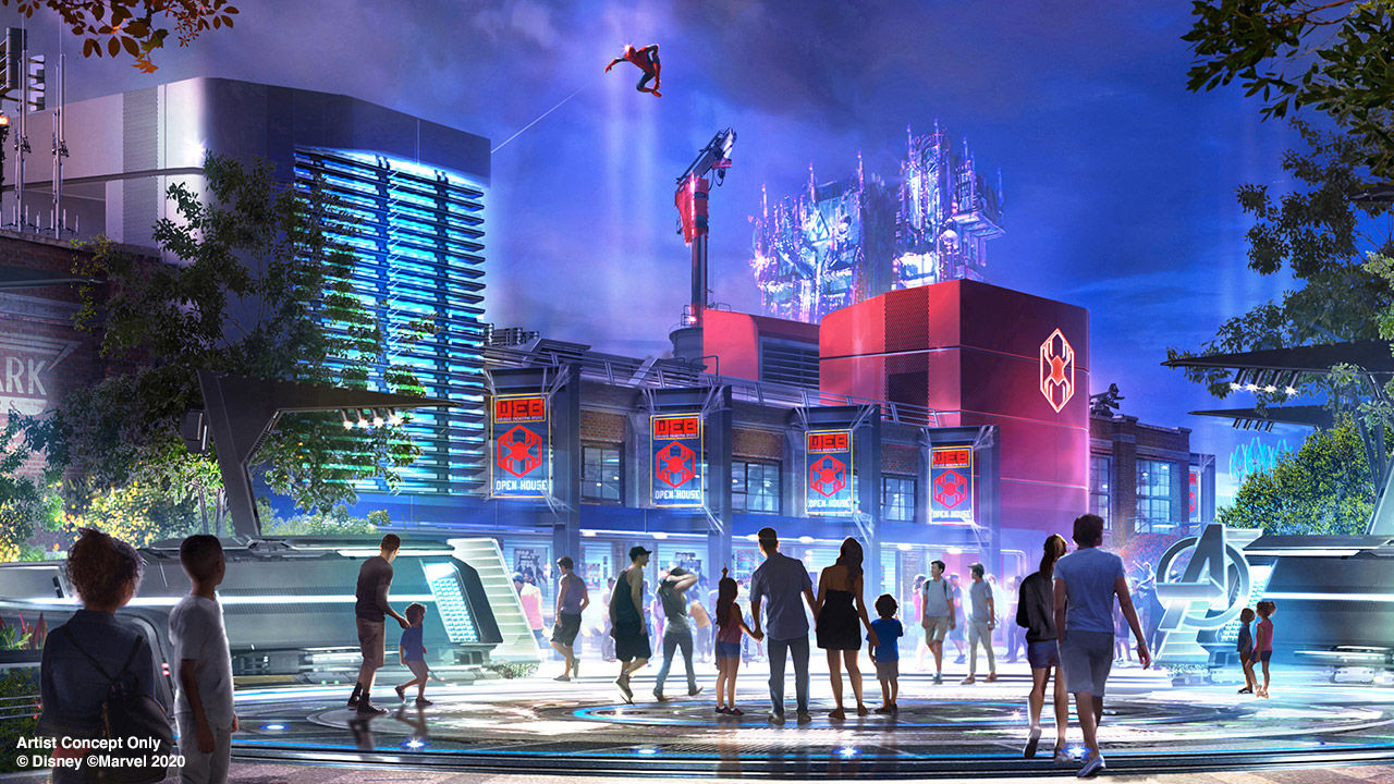 Disneys Avengers Campus öppnar i juli