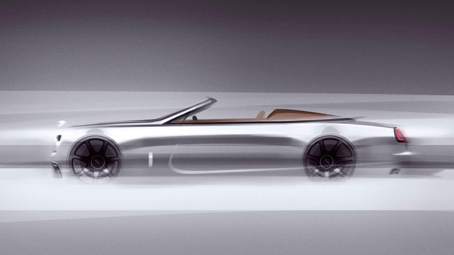 Rolls-Royce Dawn som tvåsitsig roadster