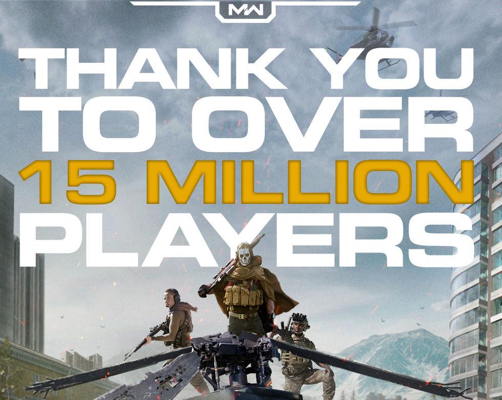 15 miljoner spelar Call of Duty: Warzone