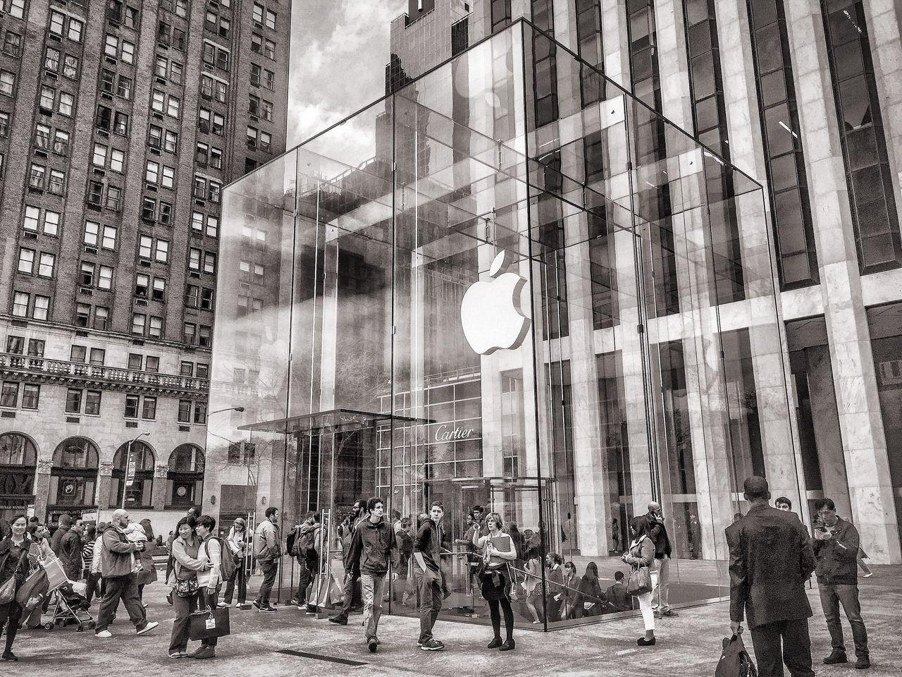 Apple stänger samtliga butiker utanför Fastlandskina
