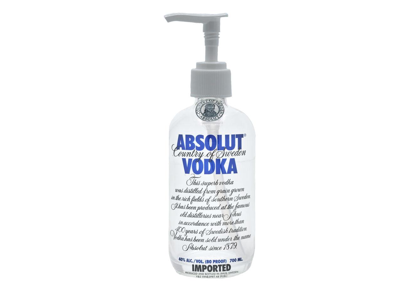 Absolut Vodka vill leverera sprit till handsprit