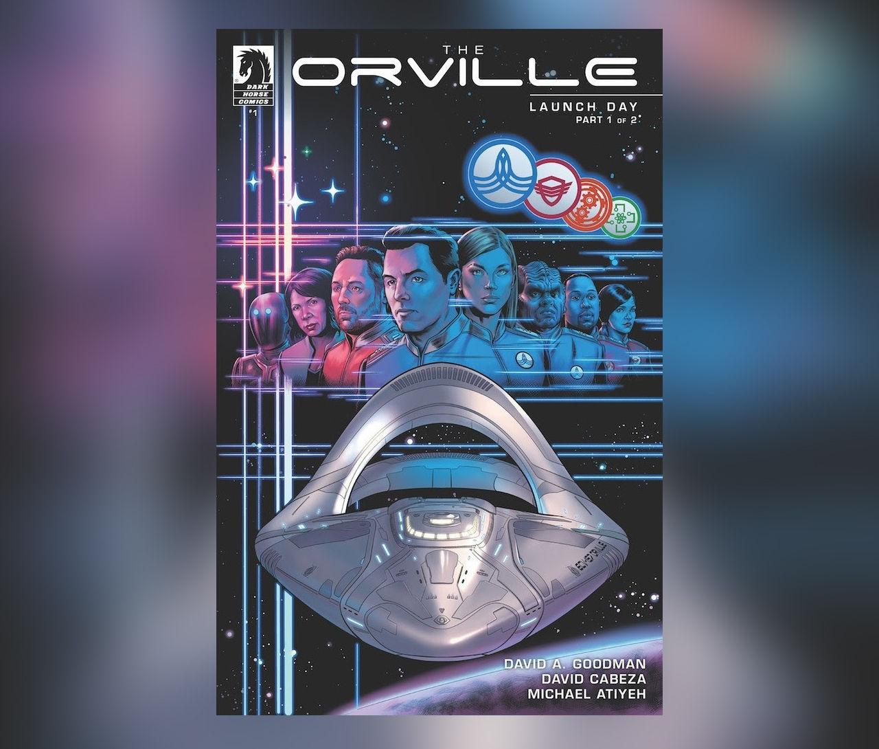 The Orville blir serietidning