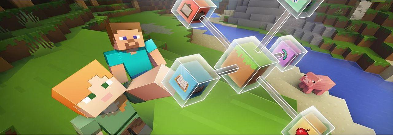 Microsoft bjussar på Minecraft: Education Edition