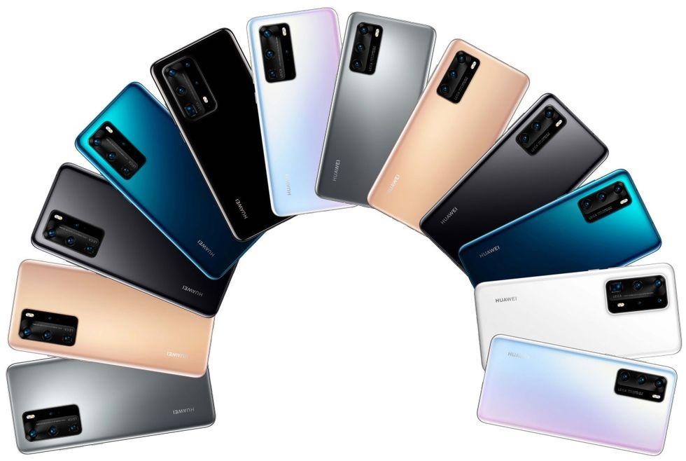 Evan Blass visar upp hela Huawei P40-familjen