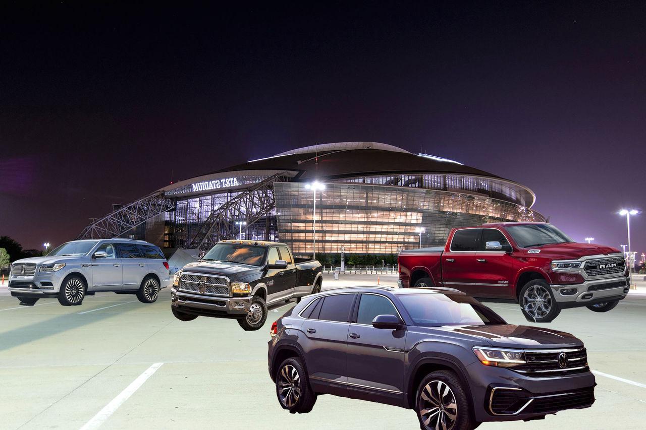 Pickuper och suvar börjar bli för stora för parkeringsplatser