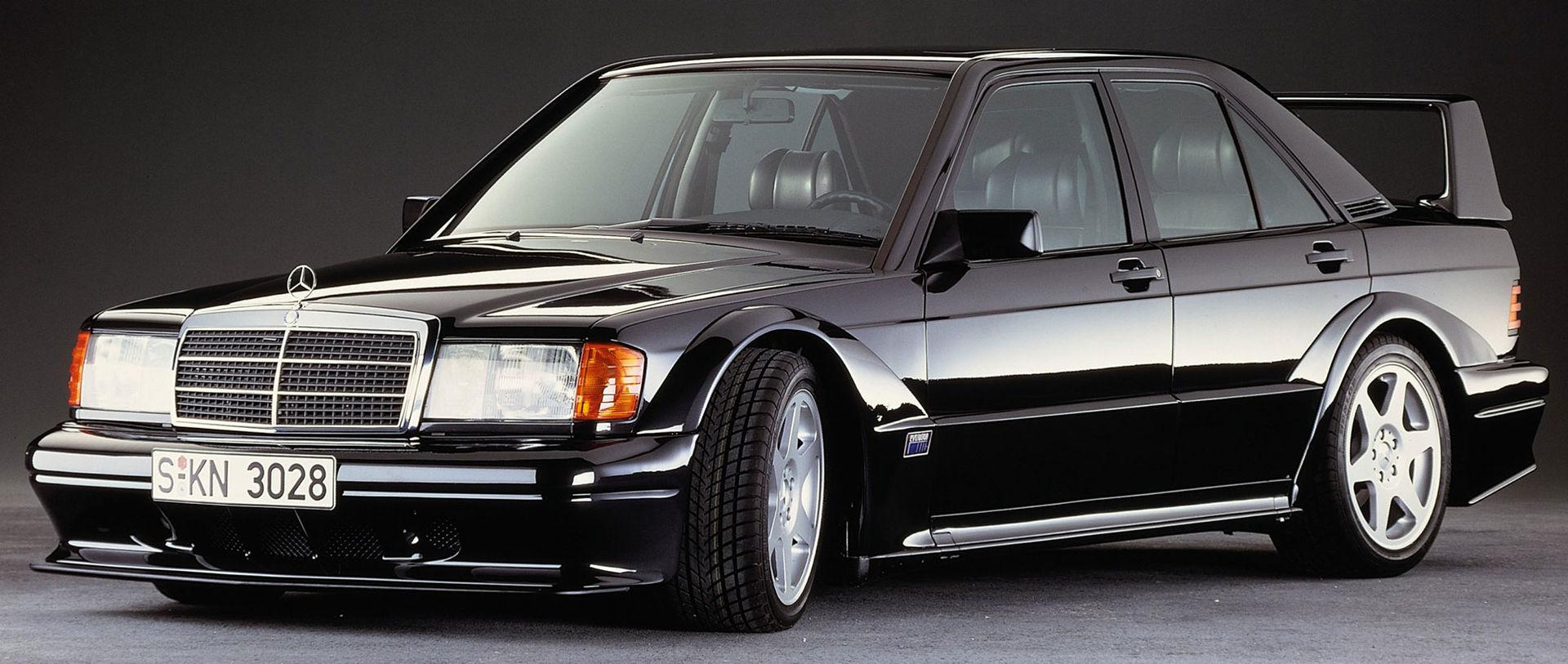 Tut i luren! Mercedes-Benz 190E 2.5-16 Evo II fyller 30 år!