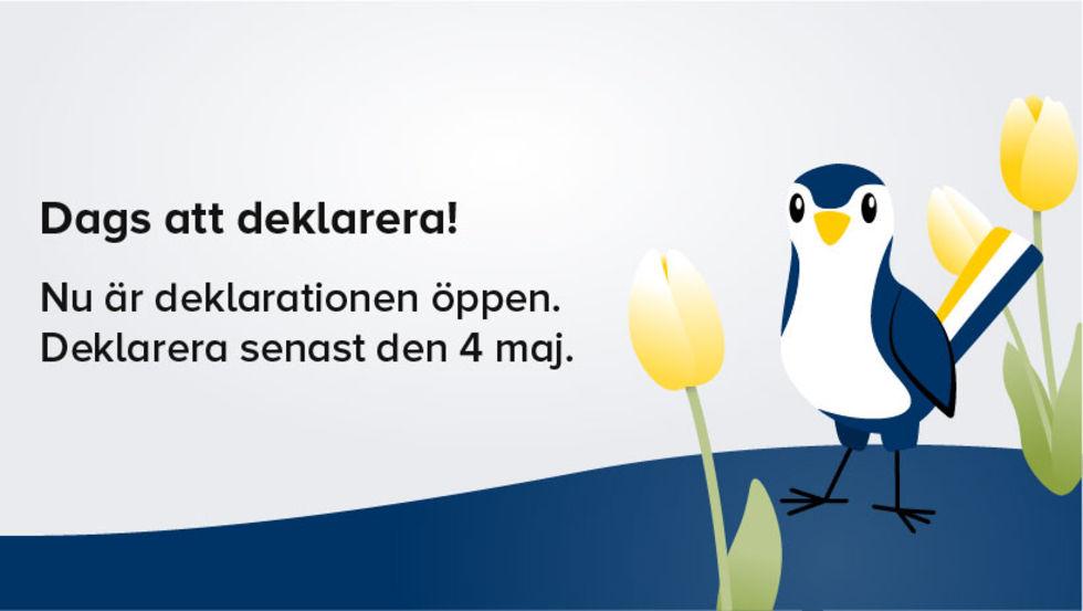 Idag öppnar deklarationen online