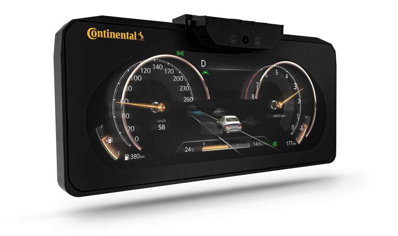 Continental har tagit fram ett 3D-instrumentkluster