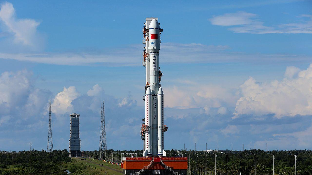 Kinas nya rymdraket tog sig inte till rymden
