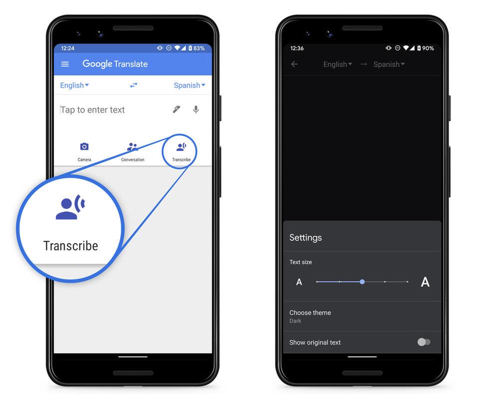Nu kan Google Translate transkribera på åtta olika språk