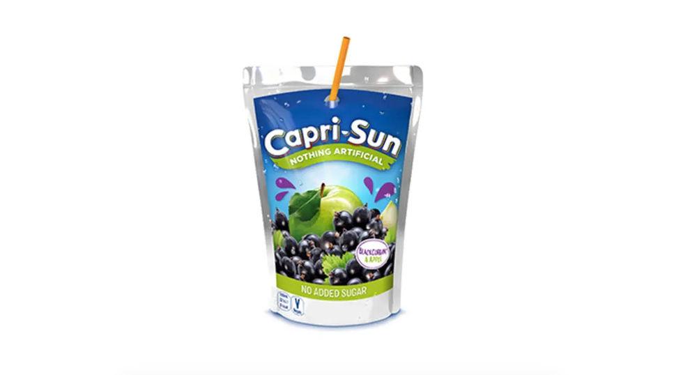 Capri-Sun utan tillsatt socker för första gången