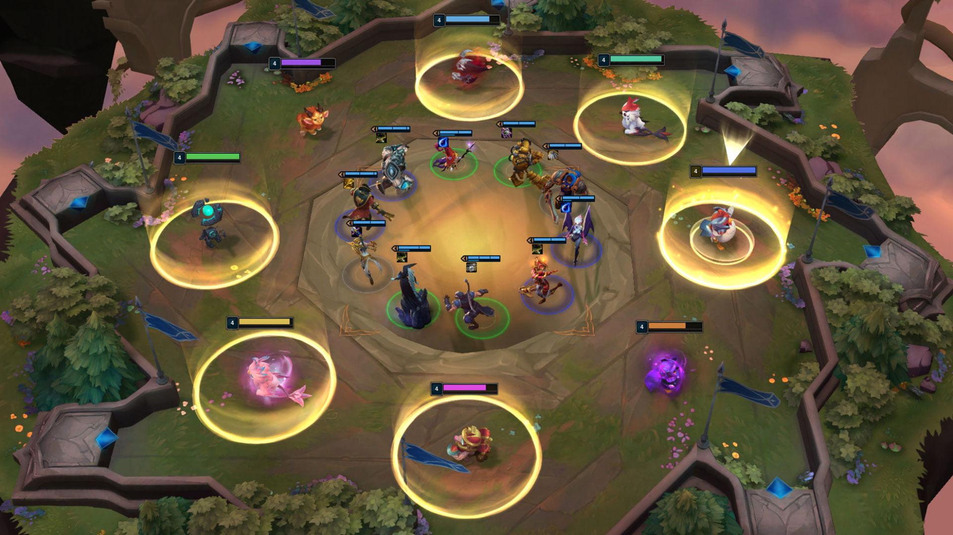 Teamfight Tactics är Riot Games första mobilspel