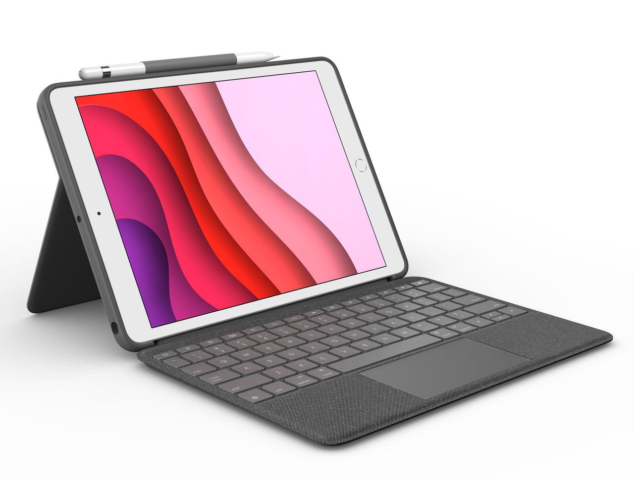 Logitech presenterar tangenbord med trackpad till äldre iPads