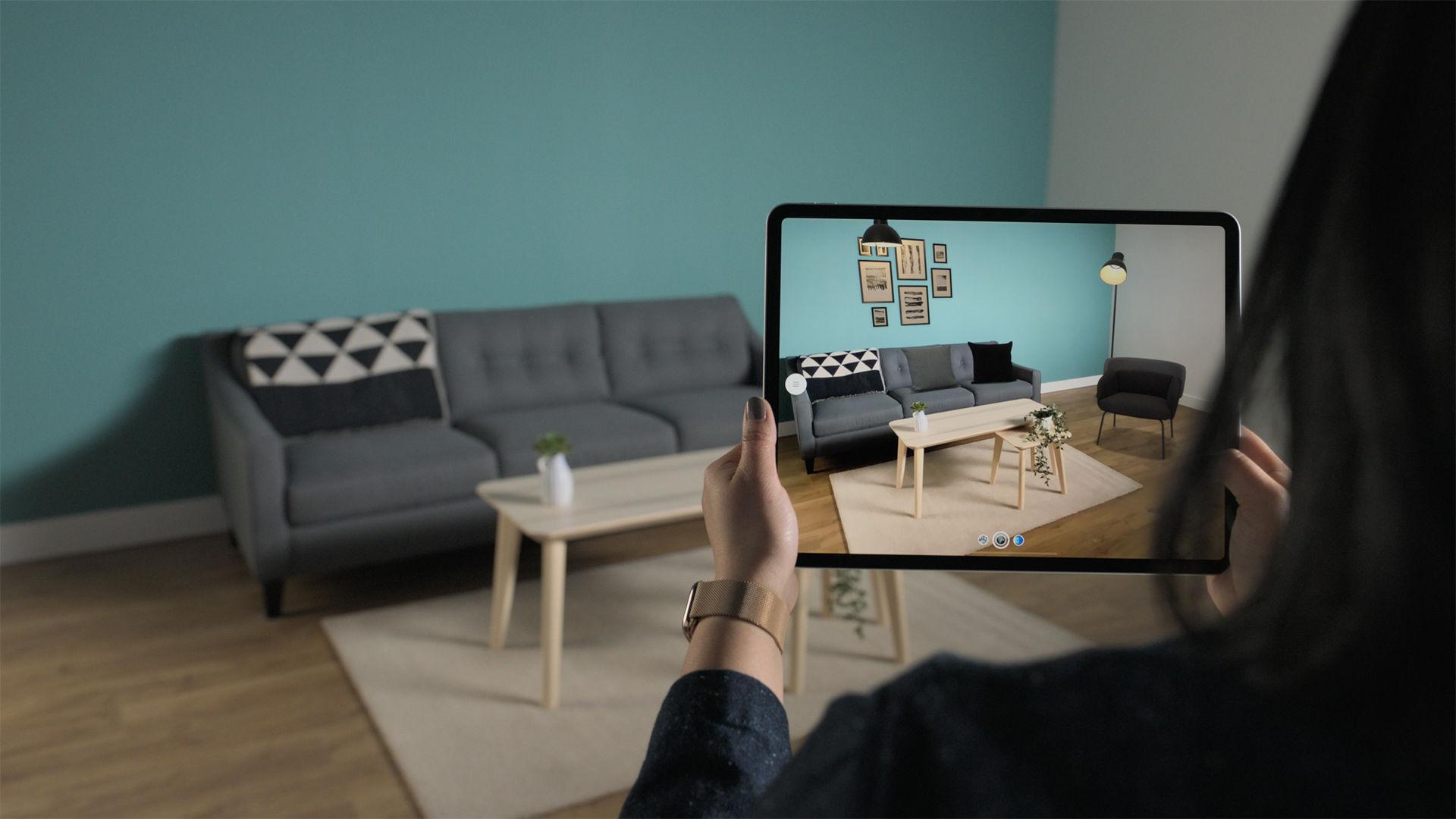 Ny version av IKEA Place kommer till iPad Pro