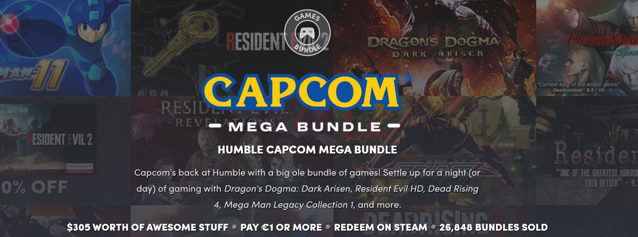 Fynda Capcom-spel i ny Humble Bundle