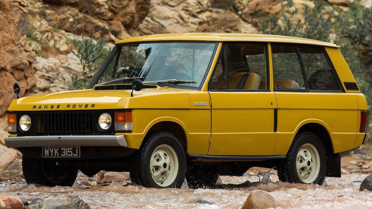 Tut i luren! Range Rover fyller 50 år i år!