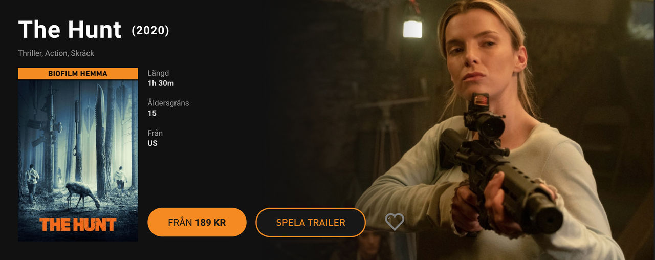 Nu släpps biofilmer på SF Anytime