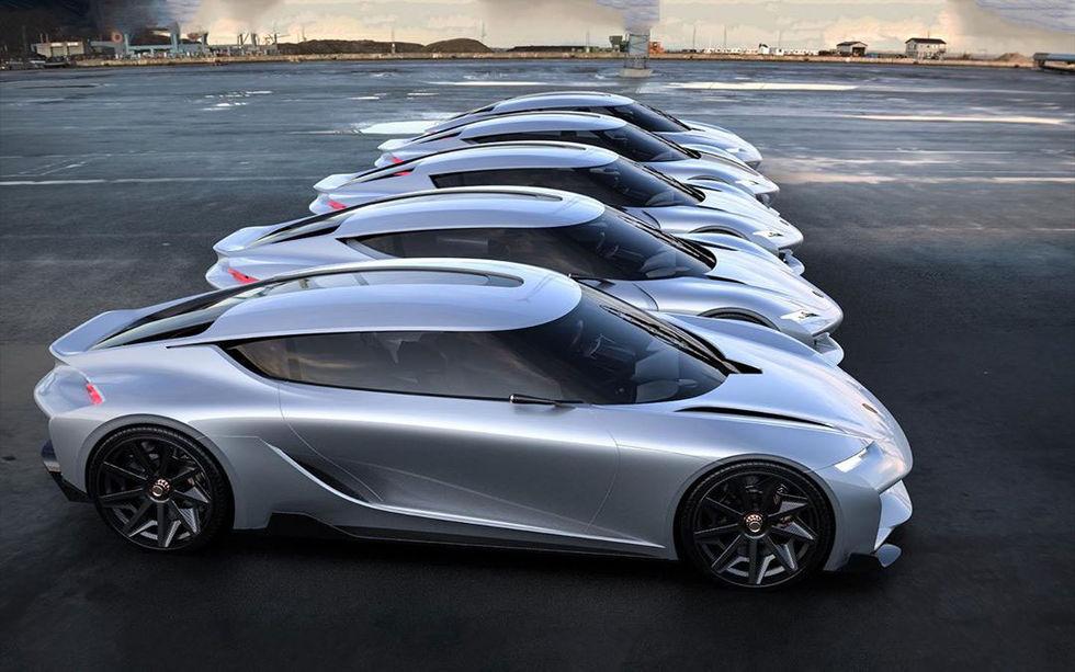 Koenigsegg-designern delar med sig av Gemera-förslag