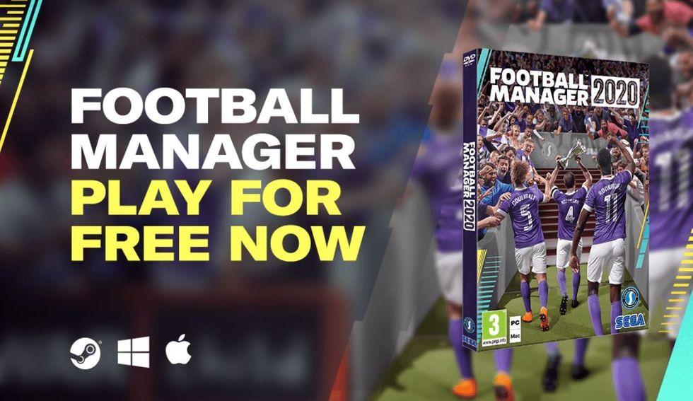 Spela Football Manager 2020
