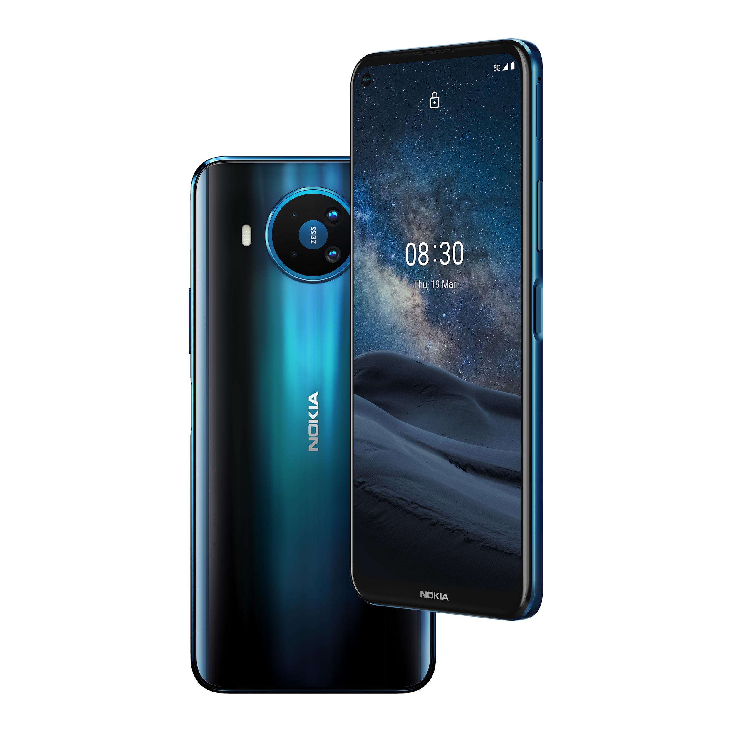 Nokia släpper 5G-telefon Som fungerar på alla 5G-nät