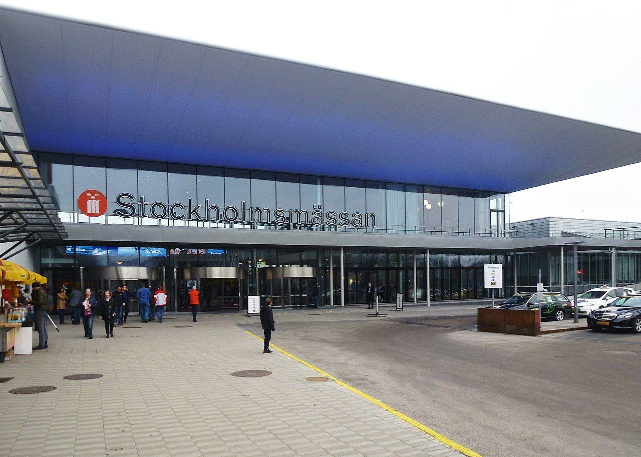 Fältsjukhus byggs vid Stockholmsmässan