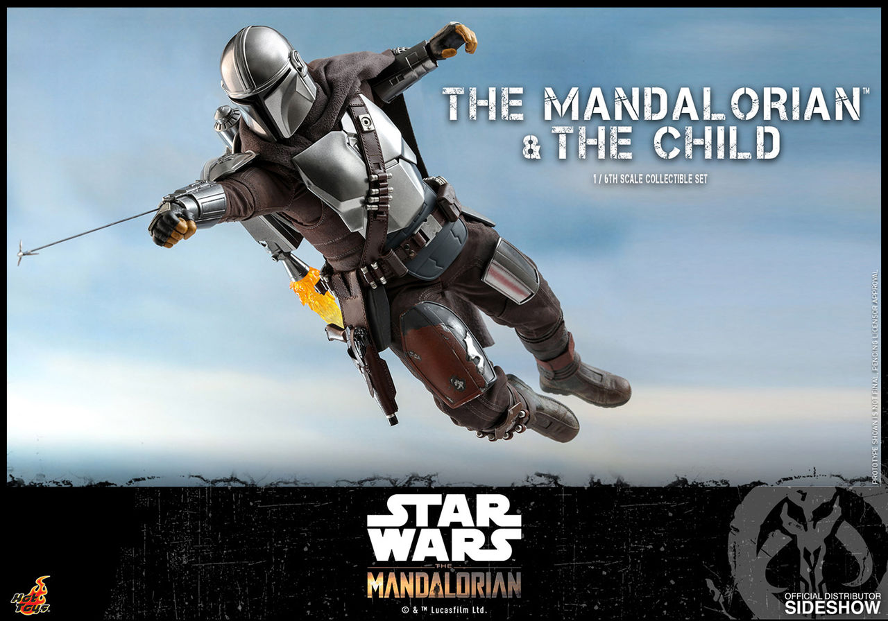 Hot Toys och Sideshow visar upp tjusig Mandalorian-statyett