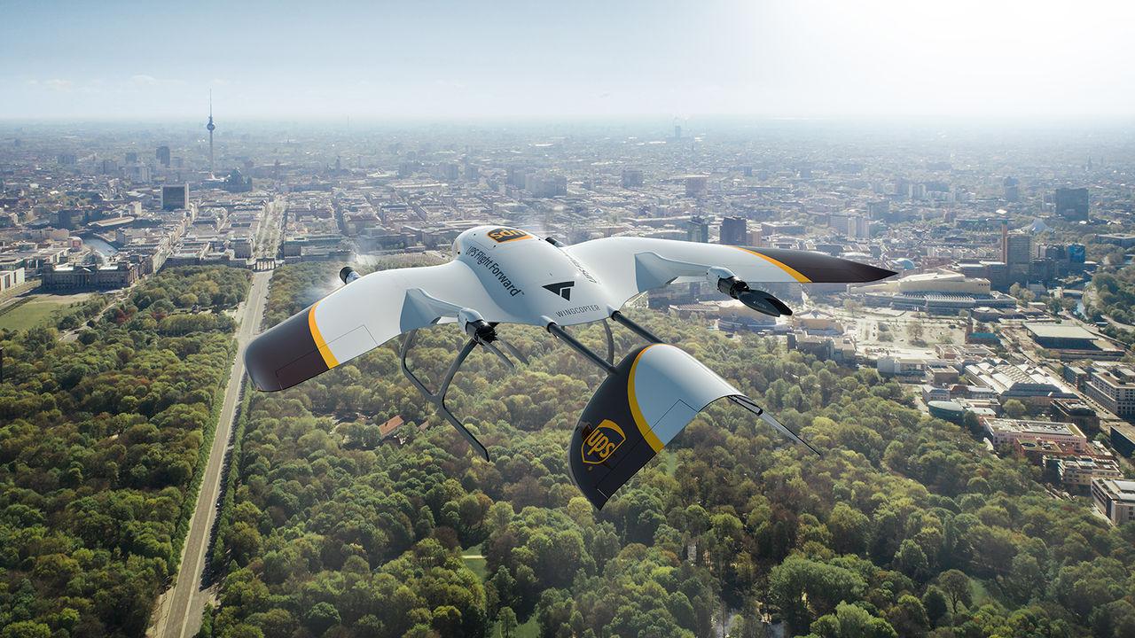 Wingcopter ska göra leveransdrönare till UPS