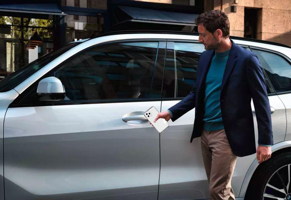 Blir BMWs bilar de första bilarna man kan starta med iPhone?