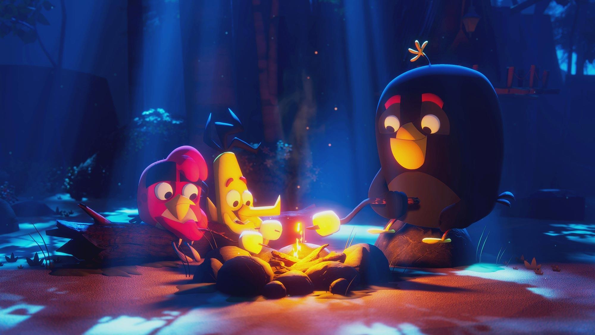 Netflix beställer Angry Birds-serie Angry Birds: Summer Madness väntas släppas nästa år
