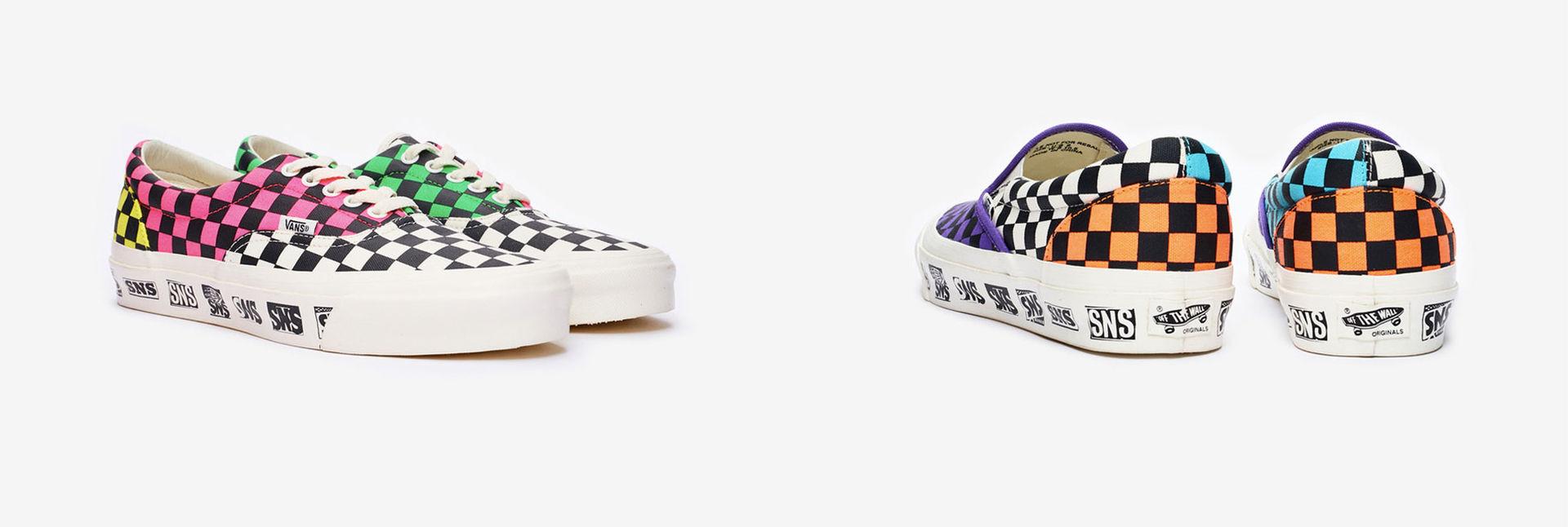 Vans och Sneakersnstuff presenterar samarbete