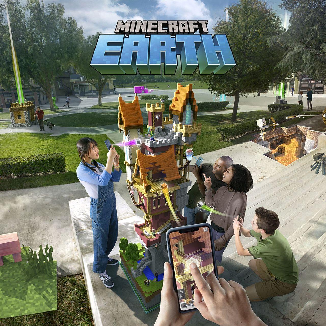 Minecraft Earth pandemi-anpassas