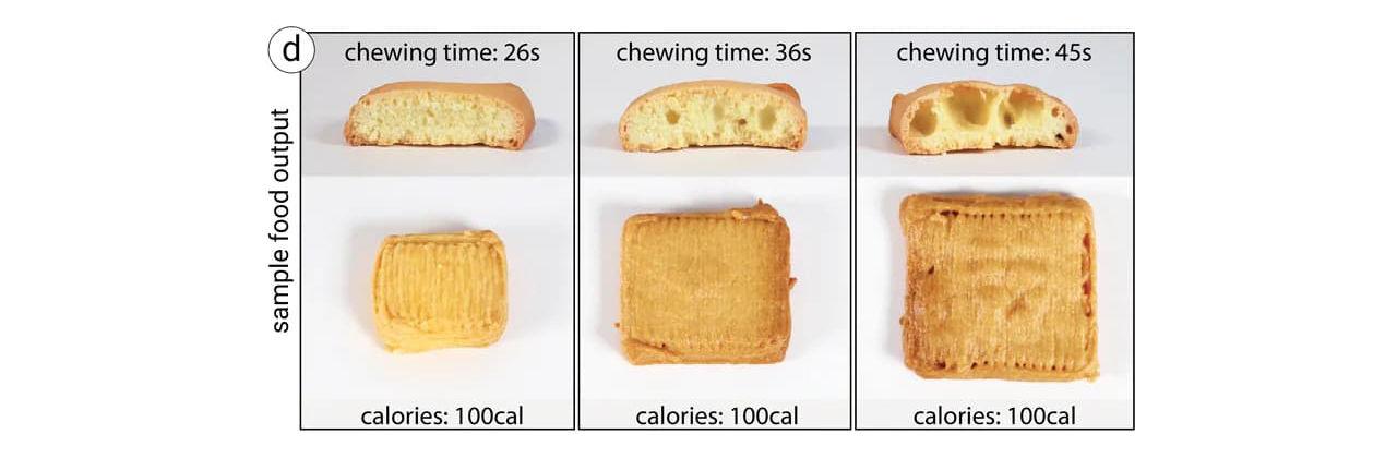 3D-utskriven mat lurar hjärnan att äta mindre