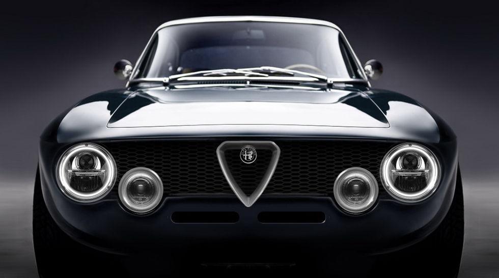 Klassisk Alfa Romeo Giulia med eldrift