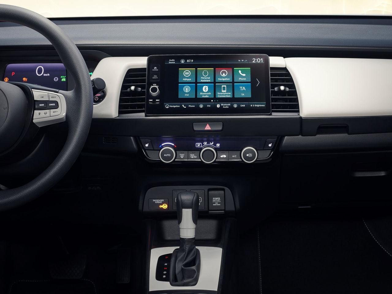 Honda går tillbaka till rattar och fysiska knappar