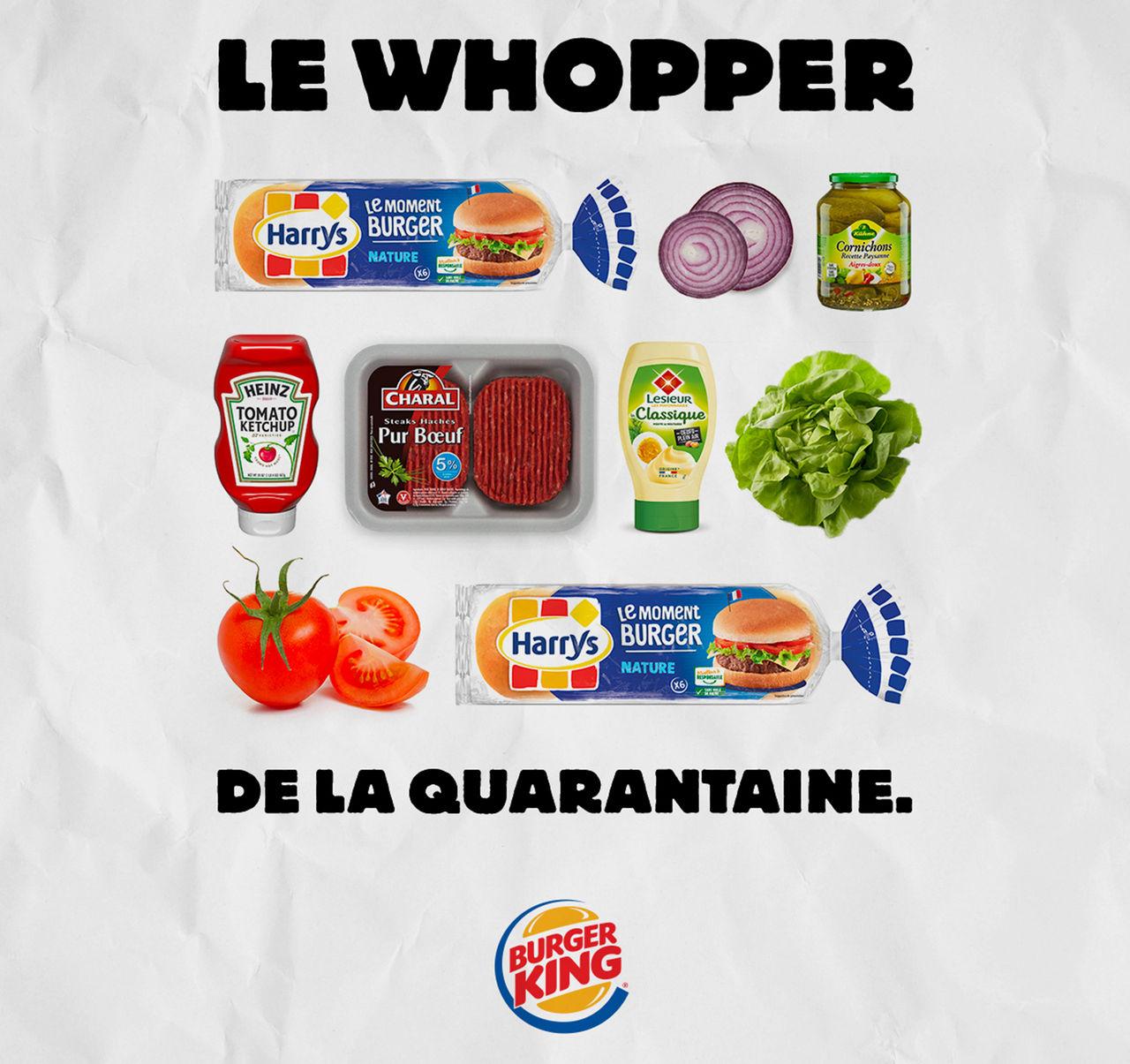 Burger King visar hur du gör karantän-burgare