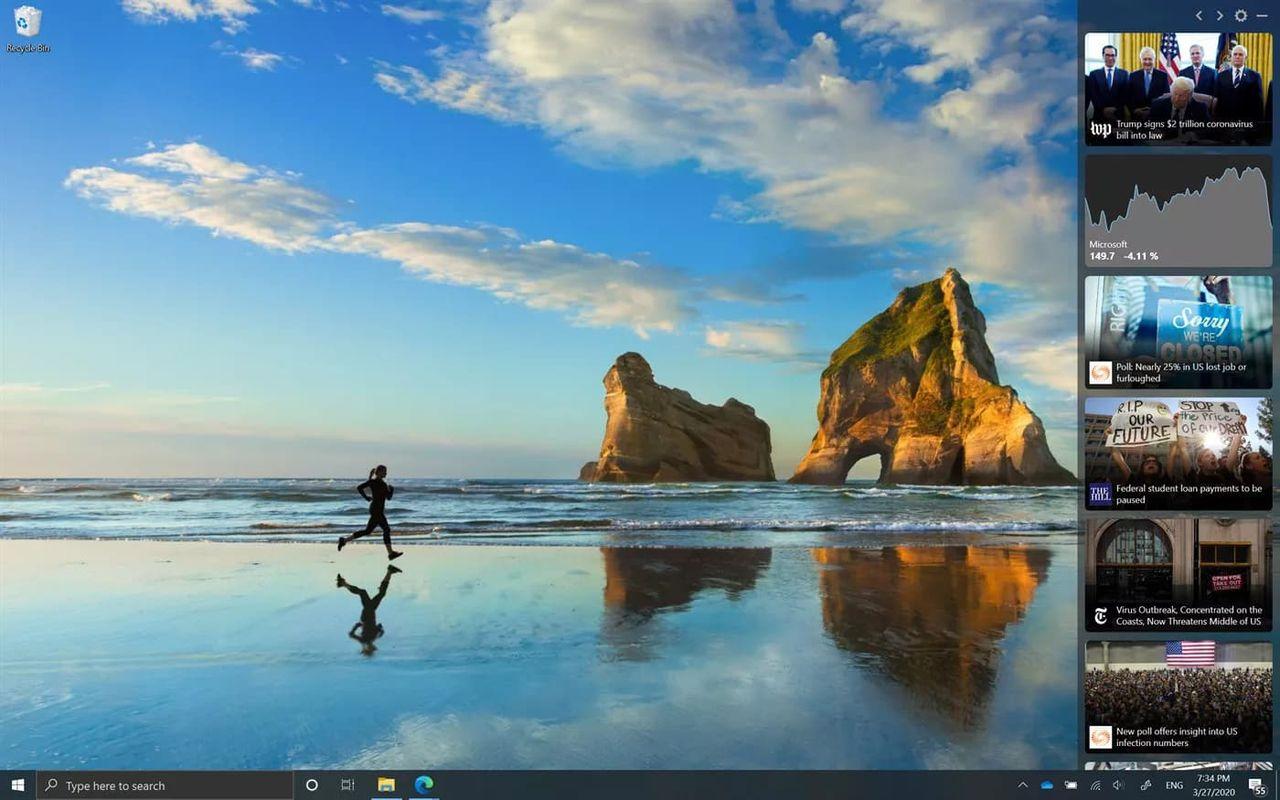 Microsoft News Bar fixar nyhetsflöde till Windows 10