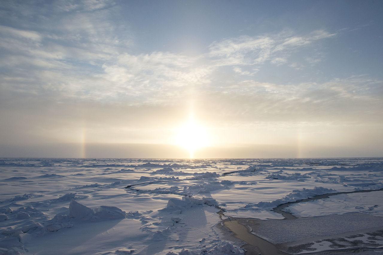 Jättestort ozonhål har öppnats upp över Arktis