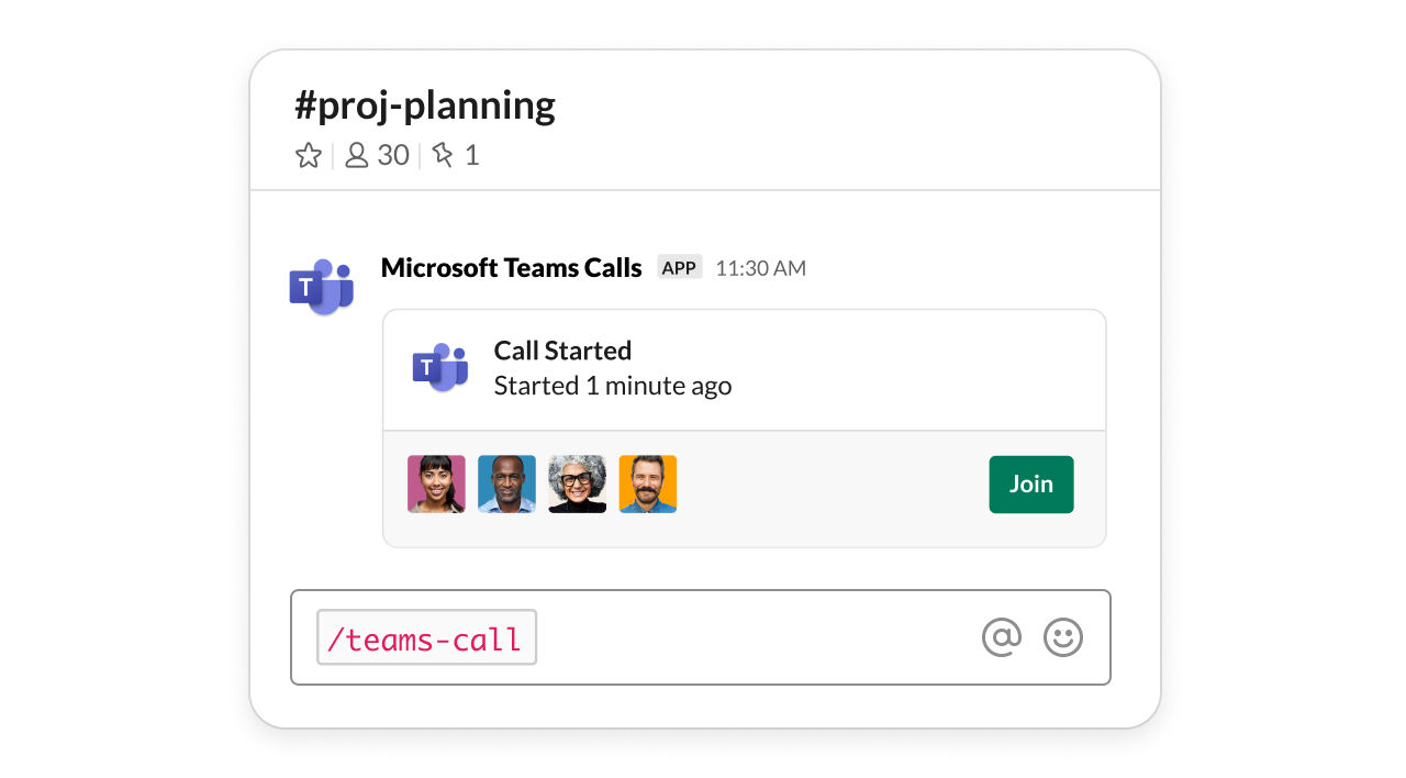 Nu kan man ringa Microsoft Teams från Slack