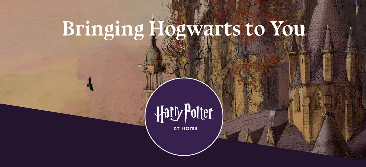 Gå i karantän med Harry Potter at Home