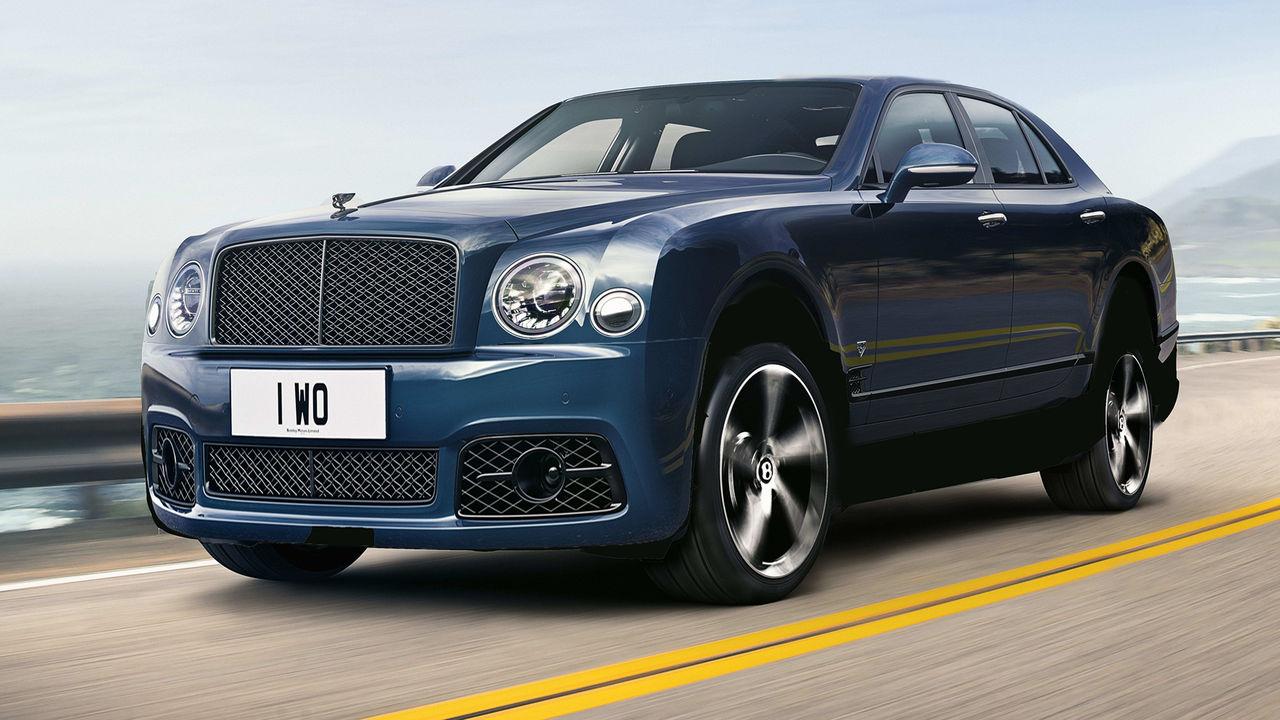 Bentleys första elbil blir en högbyggd sedan