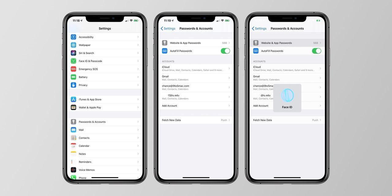 Apples Keychain ryktas förbättras i iOS 14