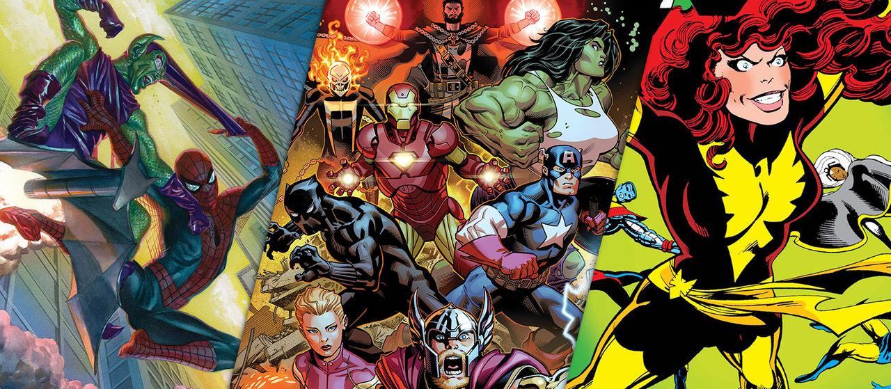 Marvel bjussar på serietidningar för karantänsläsning