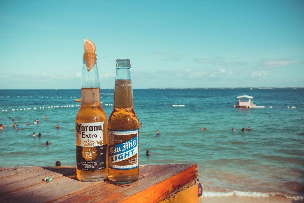 Mexico slutar brygga Corona